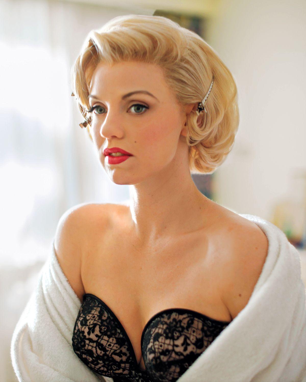 First Look Kelli Garner In The Secret Life Of Marilyn Monroe