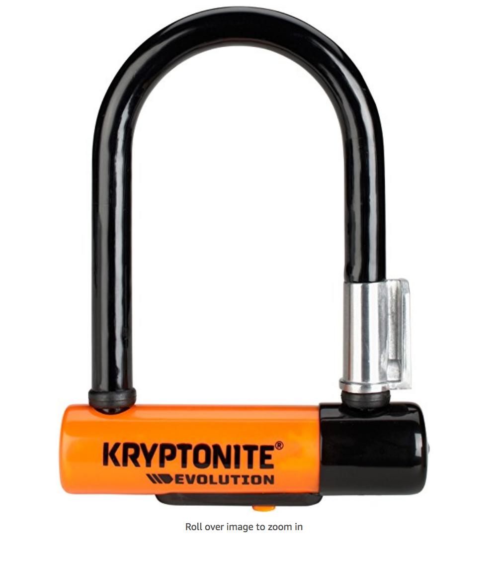 My Favorite Bike Security System Part 1 The Kryptonite New U