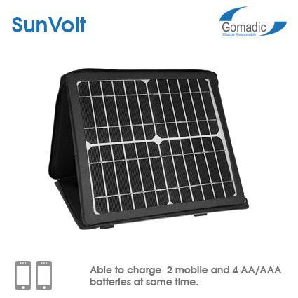 Gomadic Sunvolt 10w Portable Solar Panel Portable Solar Panels Solar Panels Solar Energy Diy