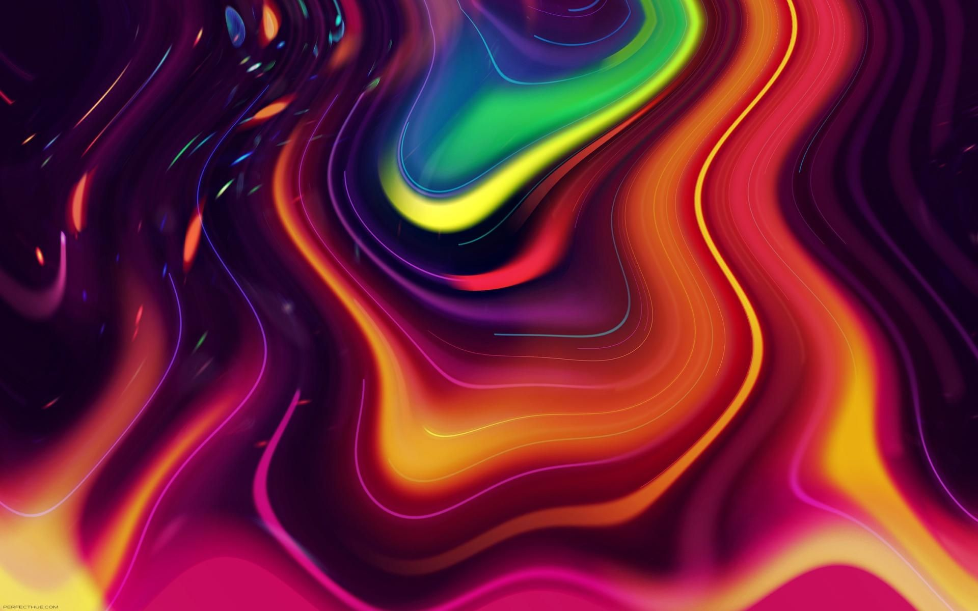 Abstract Swirl Colors Psychedelic Bright Wallpaper Background Colorful Wallpaper Abstract Wallpaper Bright Wallpaper