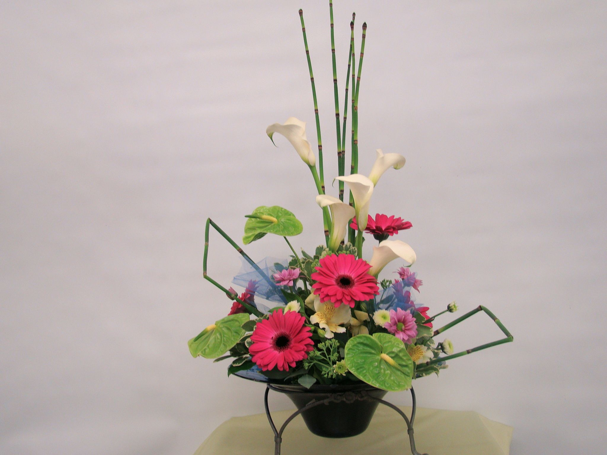 Japanese Flower Arrangement Japanese Ikebana Style Long Lasting