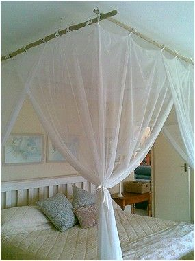 Mosquito Net. With Scaffolding Instead Of Bamboo?