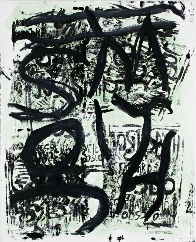Josh Smith / untitled #1, 2006