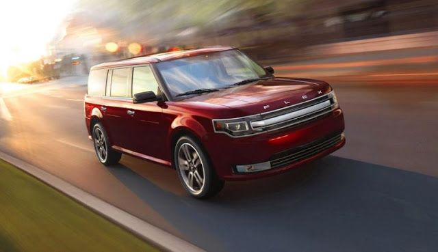 The Old And The Beautiful 2017 Ford Flex Performance Dengan Gambar