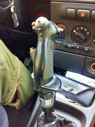 Replace Your Car's Gear Shift with a Gaming Joystick | Gear shift