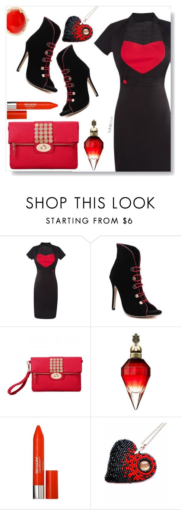 """TwinkleDeals"" by simona-altobelli ❤ liked on Polyvore featuring Revlon"
