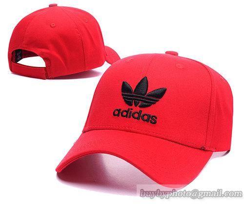 Adidas Baseball Caps Red Curved Brim Caps 5efa71e5f1c2