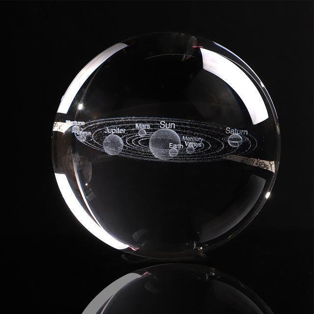 Engraved Solar System Sphere #inspireuplift explore Pinterest