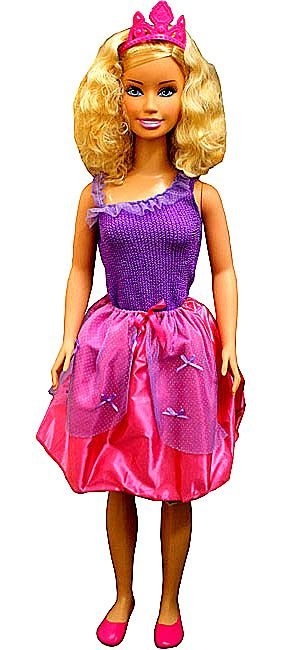 New Huge Life Size My Size Barbie Doll Over 3 Feet Tall With Two