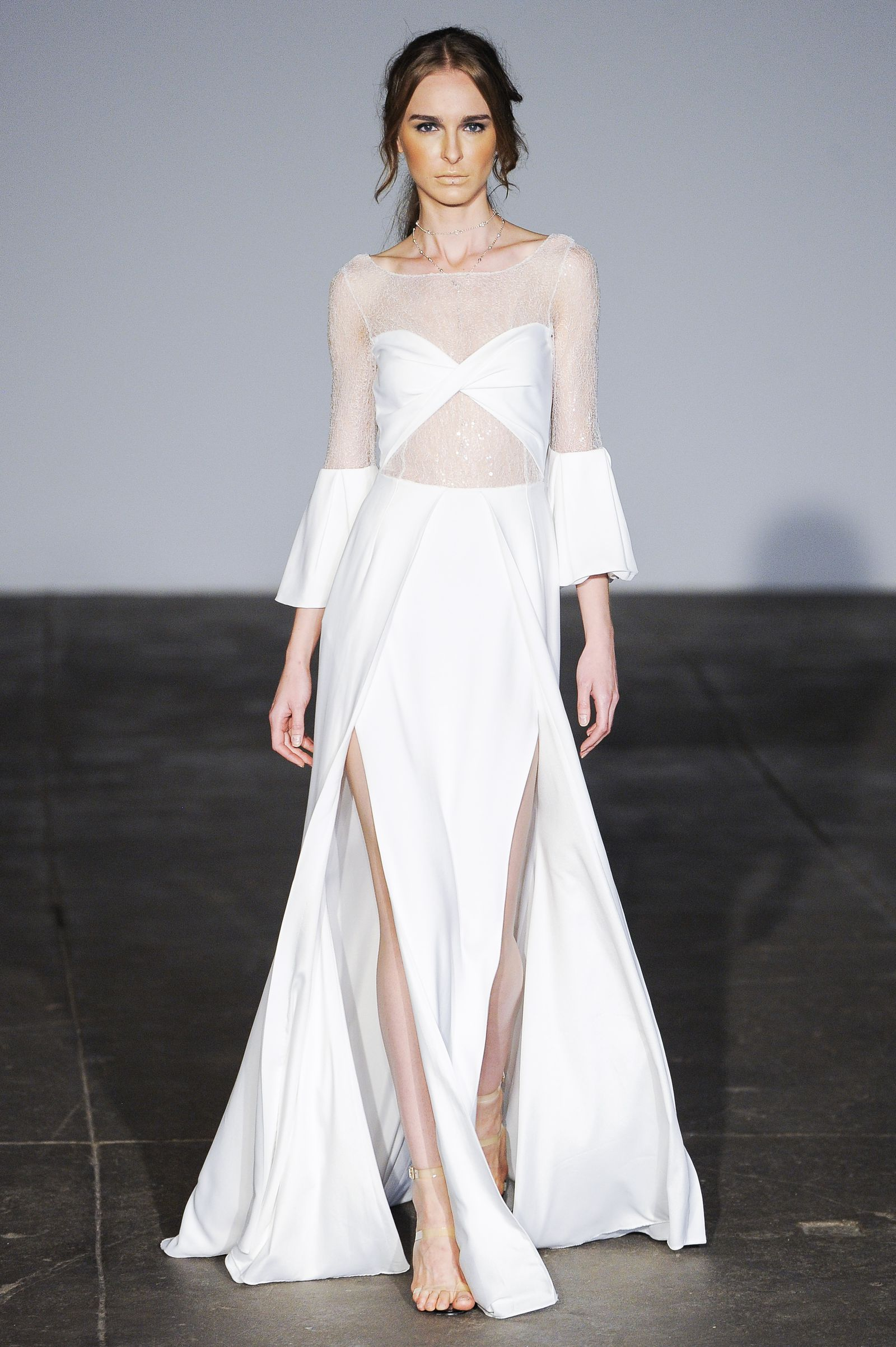 17cbe0e7ad Sleeve Volume Big Wedding Dresses, Wedding Dress Trends, Rime Arodaky, Bridal  Fashion Week