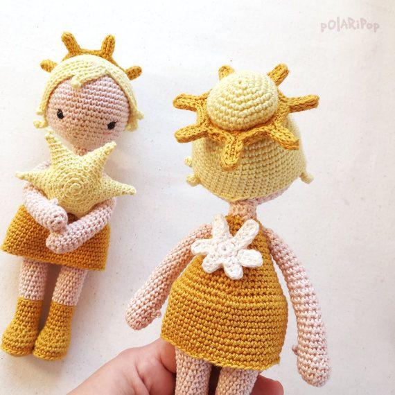 Pdf - ESTRELLA • Amigurumi Puppe Engel • Advent Süss Spielzeug ...