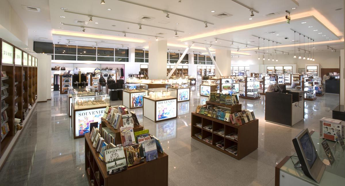 Luxury Shopping At Your Fingertips Within The Qatarairways Premium Terminal Duty Free Area