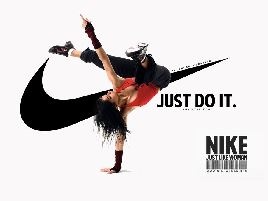 successful ads Google Search Nike women, Just do it