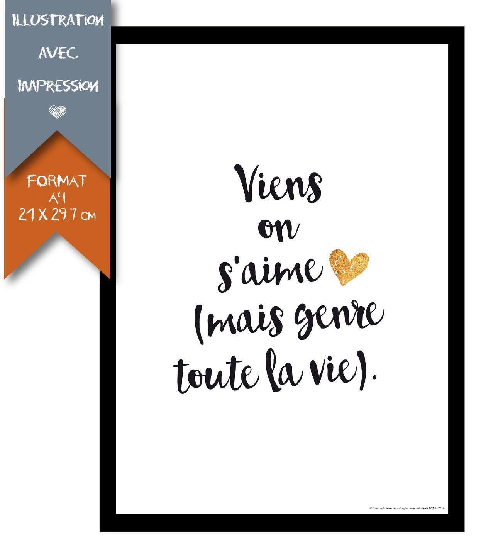 Declarez Votre Amour Avec Des Mots Doux Love Wedding Citation Cadre Photo Poster Frame Messages