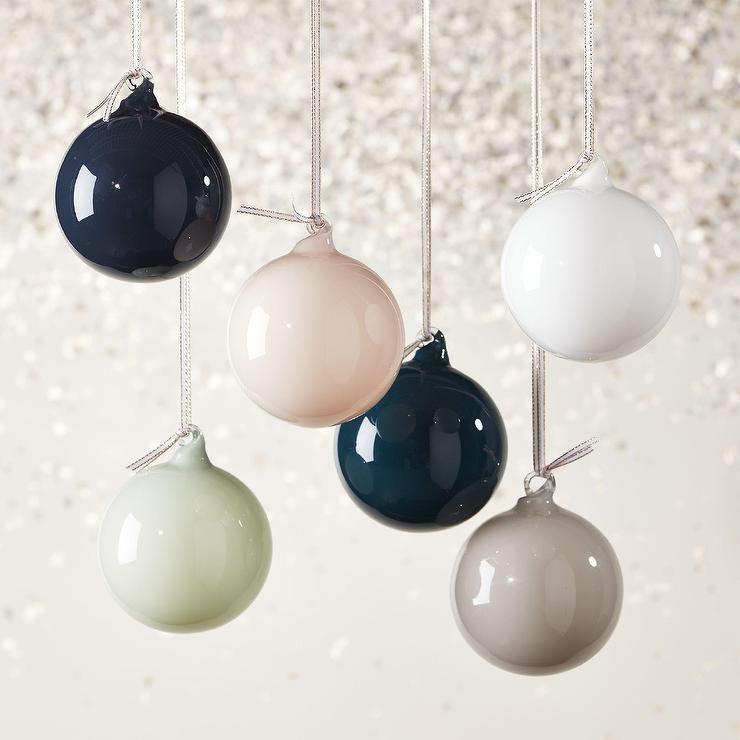 Black Christmas Balls.Soft Opaque Shiny Glass Ornaments Decor Furniture Colorful