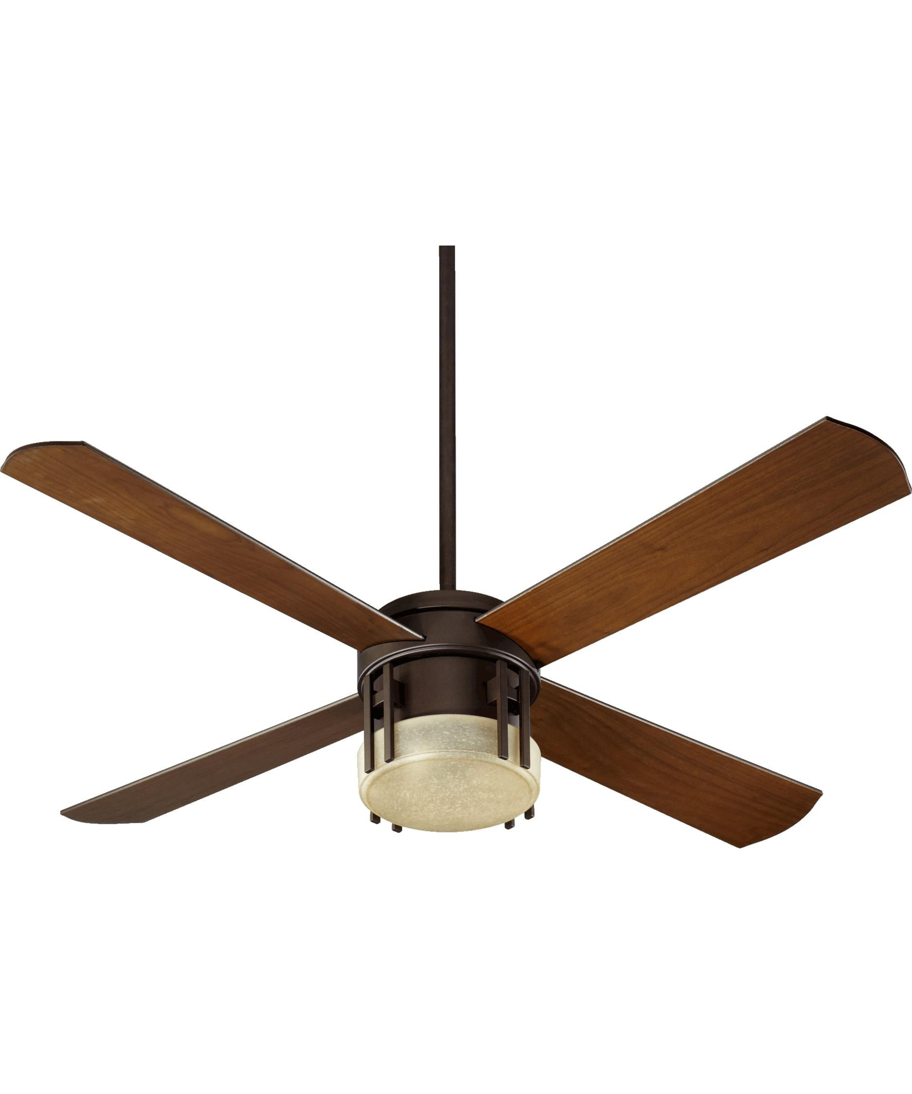 Mission 52 Inch Ceiling Fan With Light Kit By Quorum International