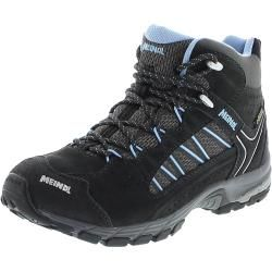 Photo of Meindl 5273-31 Journey Lady Mid Gtx Anthracite Azure Women's Hiking Shoes – Gray Meindl