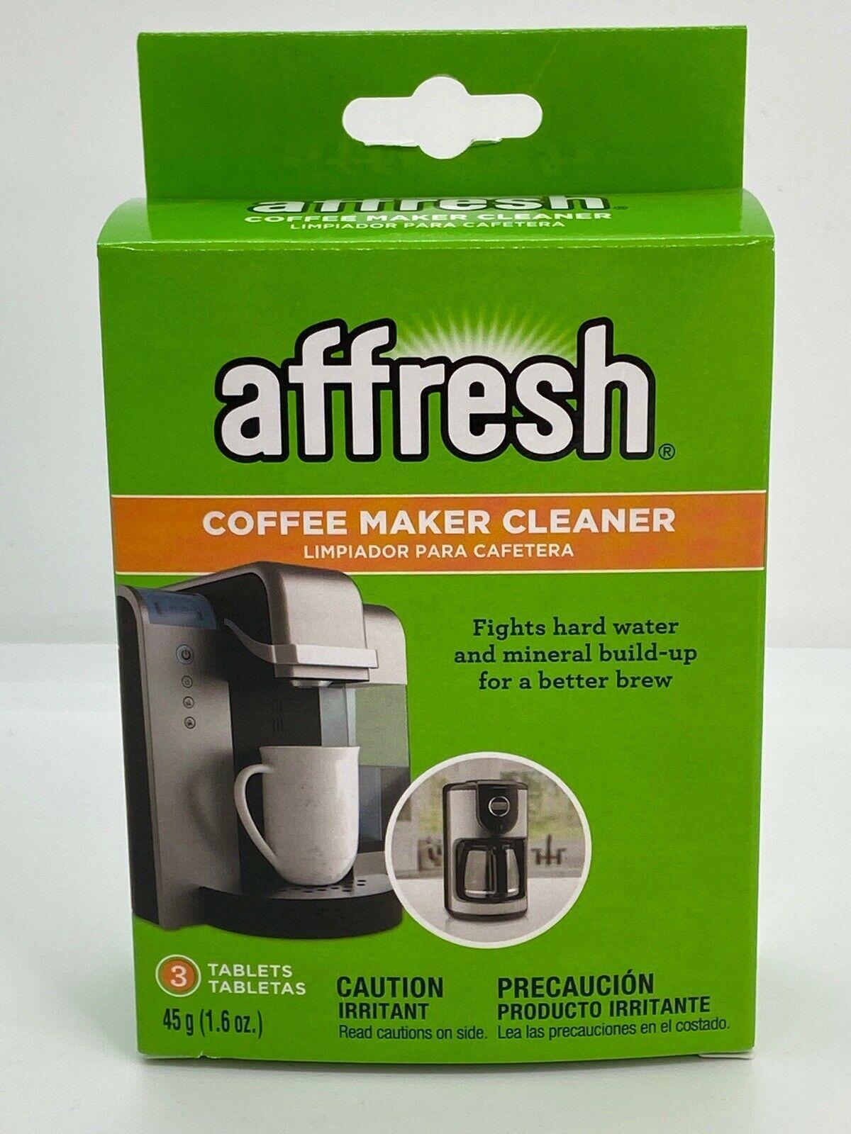 3Pk Affresh Coffee Maker Brewer Cleaner, Mineral BuildUp