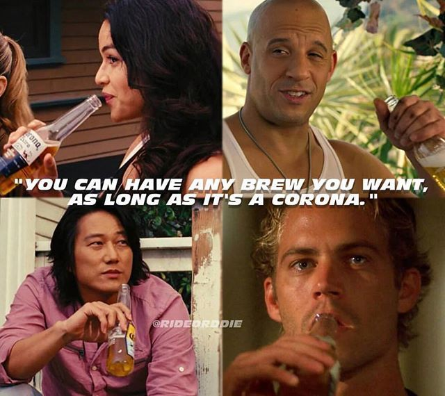 Who Said This Line Corona Fastandfurious Paulwalker Vindiesel