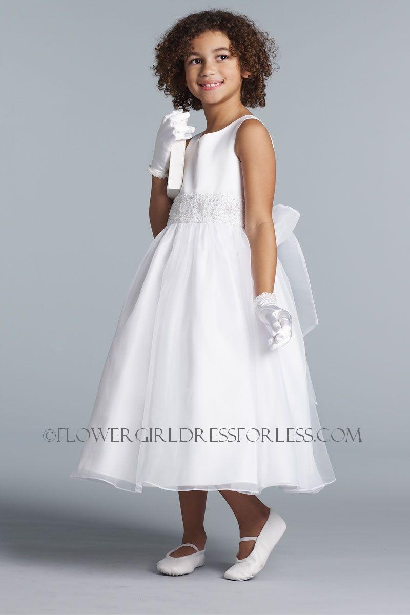Uabp us angels flower girl dress style ivory flower