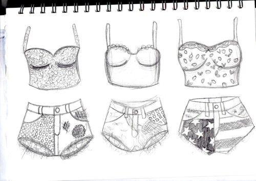 Customizando Roupas Short Blusa Com Imagens Desenhos De