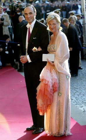 Prince Lorenz The Archduke Of Austria Este And Princess Astrid Of Belgium The Archduchess O Formal Dresses Long Celebrity Weddings Prince Frederik Of Denmark