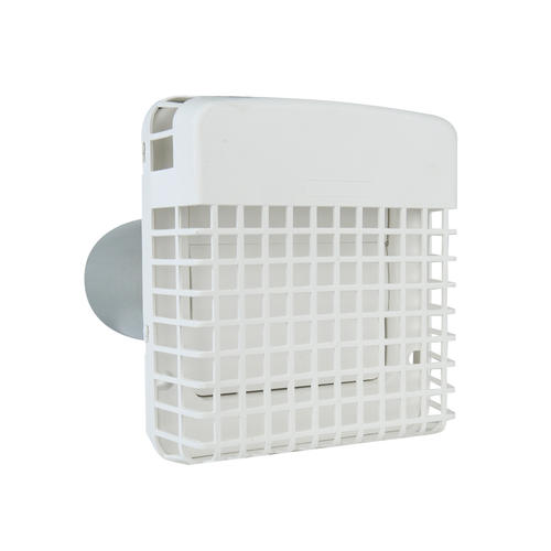 Dundas Jafine Progard 4 White Exhaust Hood With Pest Barricade Exhaust Hood Plastic Laundry Basket Heating And Cooling