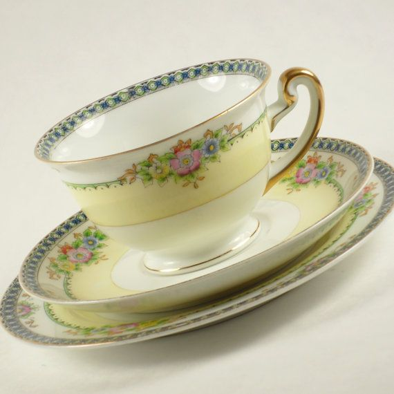Meito Hand Painted China Japan