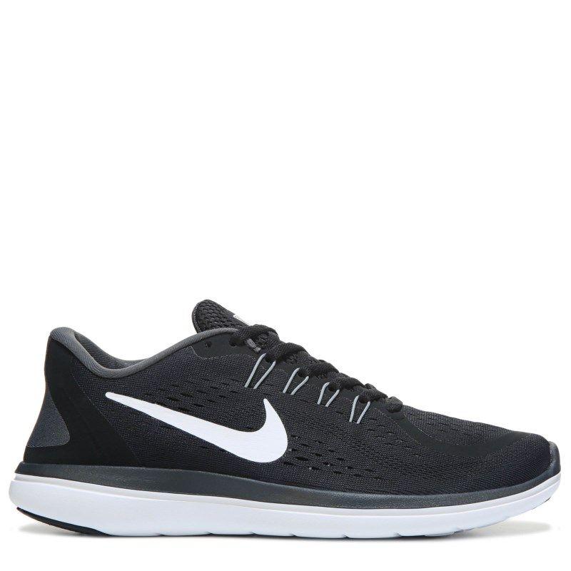648b6c0178e6 Nike Men s Flex 2017 RN Running Shoes (Black White Grey) - 14.0 M