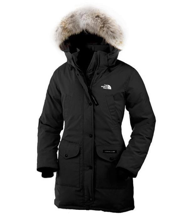 Black · The North Face Women Black Arctic Parka