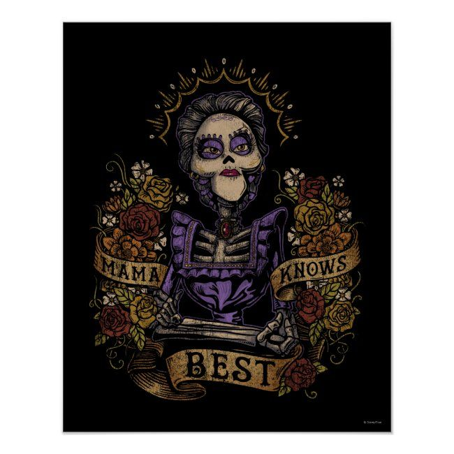 Disney Pixar Coco  Imelda  Mama Knows Best Poster #affiliate , #Sponsored, #Imelda, #Mama, #Poster, #Coco, #Shop