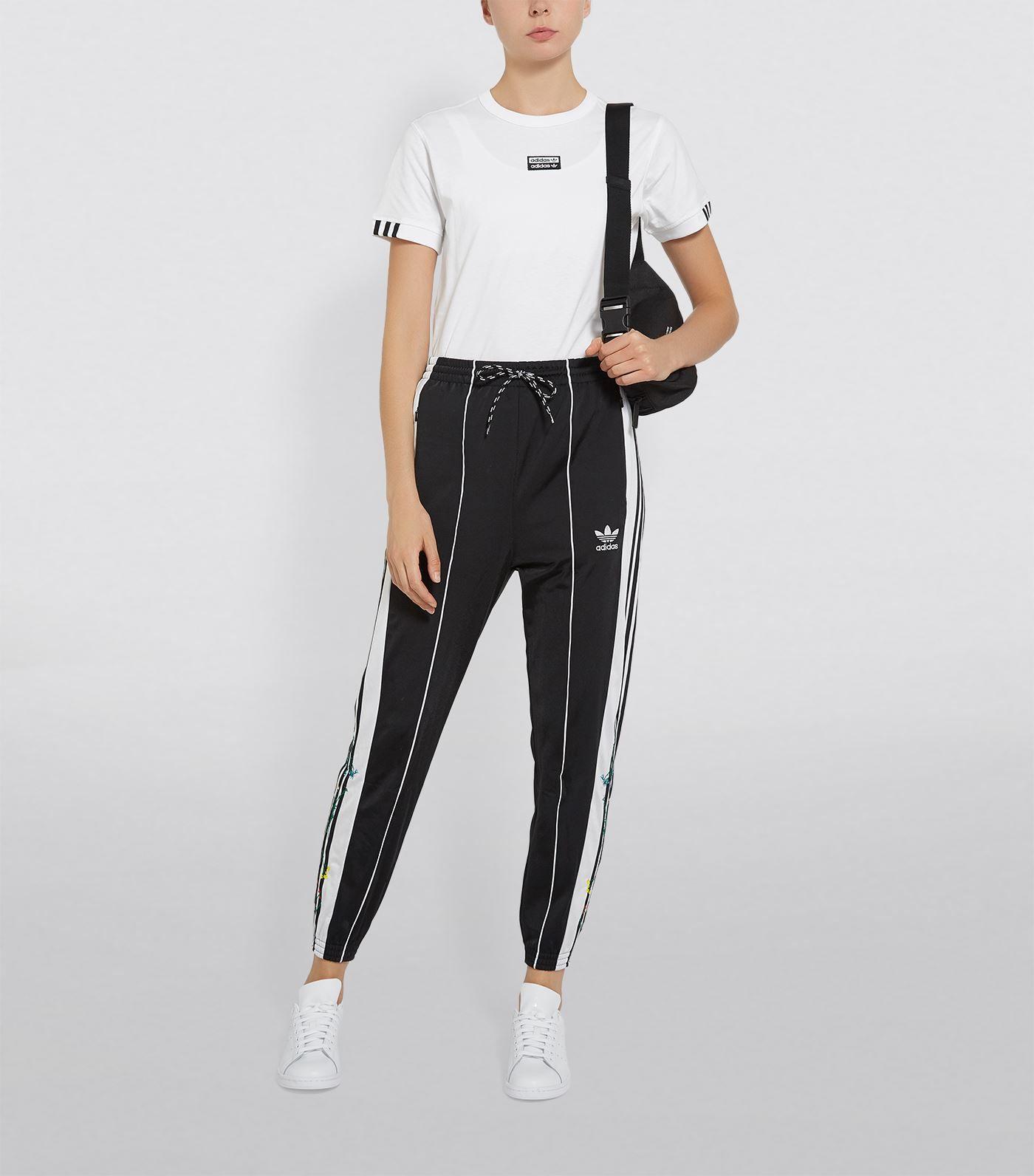 Adidas Originals Floral 3 Stripes Track Trousers Ad Aff Floral Originals Adidas Tro Adidas Track Pants Outfit Track Pants Outfit Adidas Track Pants