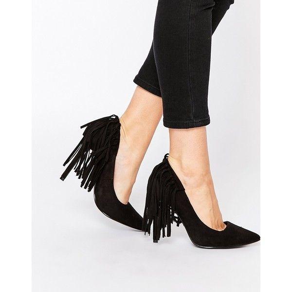 Buy Women Shoes / Missguided Tassel Fringe Heeled Court