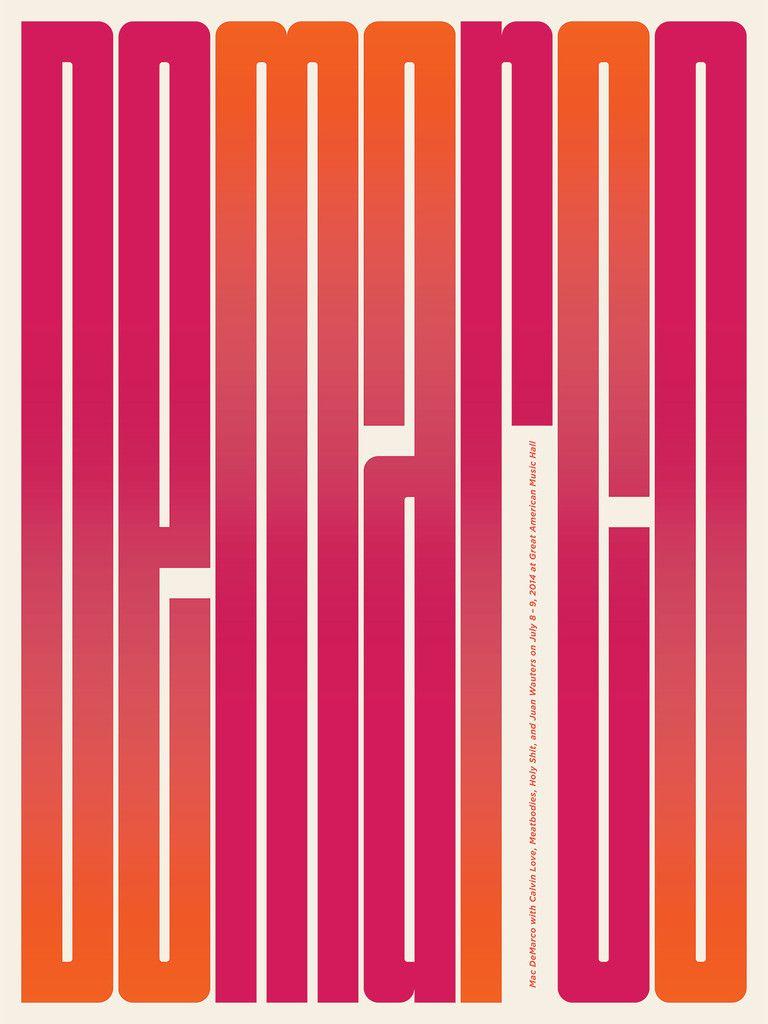 Poster design for mac - Mac Demarco Poster By Jason Munn
