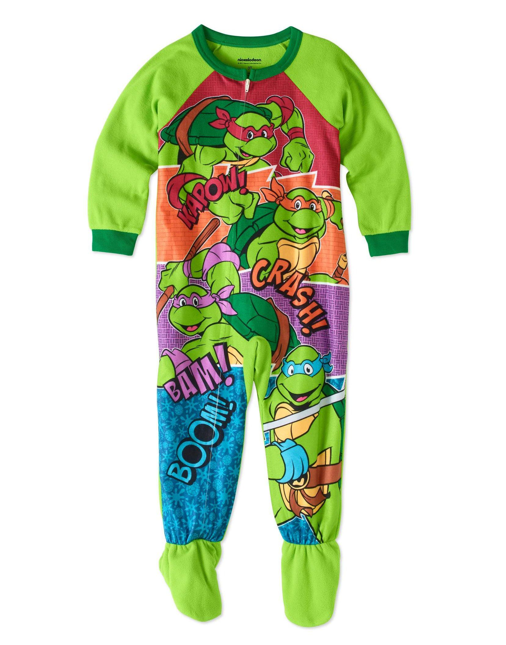 AME Nickelodeon Teenage Mutant Ninja Turtles Toddler Boys 3 Piece Pajama Set