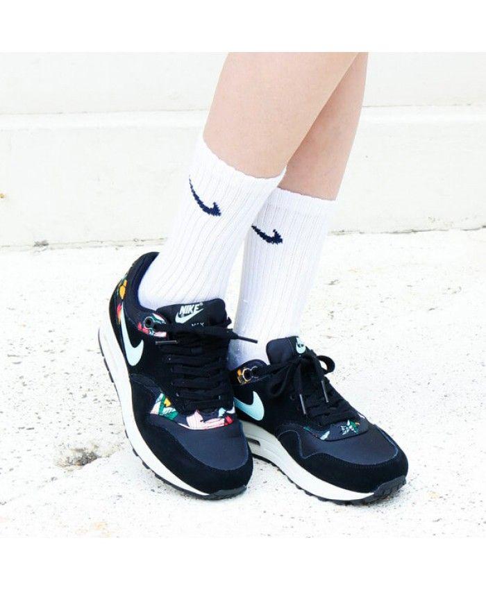 Nike Air Max 1 Floral Print Womens Nike331 Cheap Nike Air Max Nike Air Huarache Nike