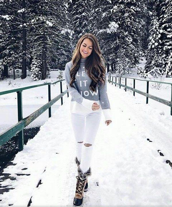 اجمل صور بنات على الجليد صور بنات فى الشتاء تحت الثلج Spor Giyim Fotograf Cekimi Fotograf