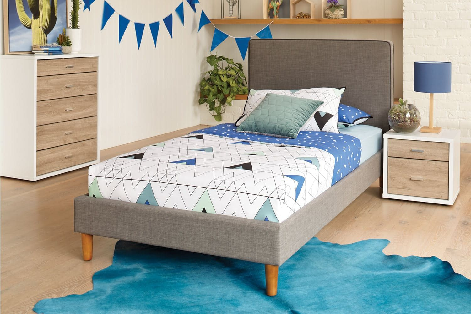 Jesse Single Bed Frame by Stoke Furniture Single bed