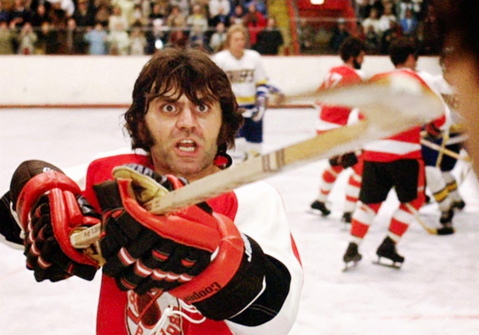 High Sticking Chiefs Clothing Brand Based On A Defunct Legendary Minor League Hockey Team Their Motto Was Spe Hockey Training Slap Shot Slap Shot Movie