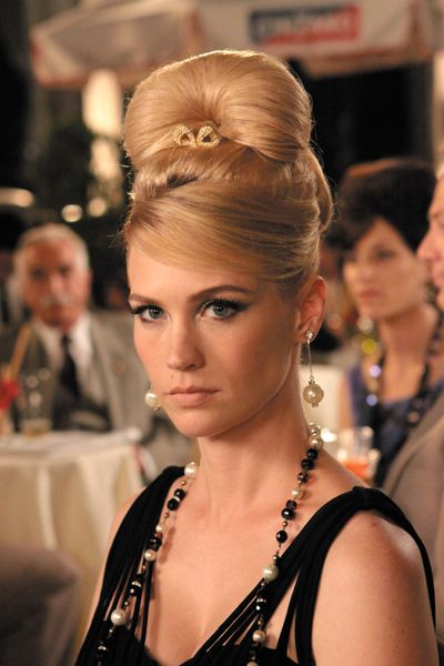 Betty Hairstyle Mad Men Coiffure Annee 40 Coiffures Vintage Coiffure