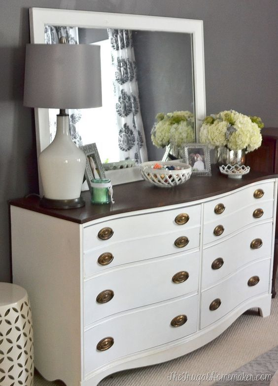 In my room I really want a dresser with a full size mirror on top ...