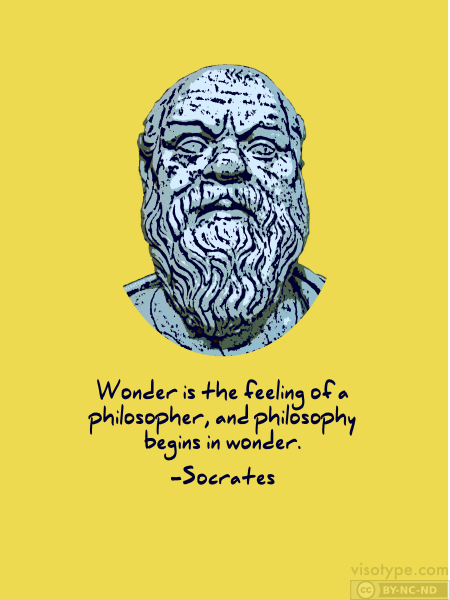 Order a Socrates poster or t-shirt from Visotype Designs and save ...