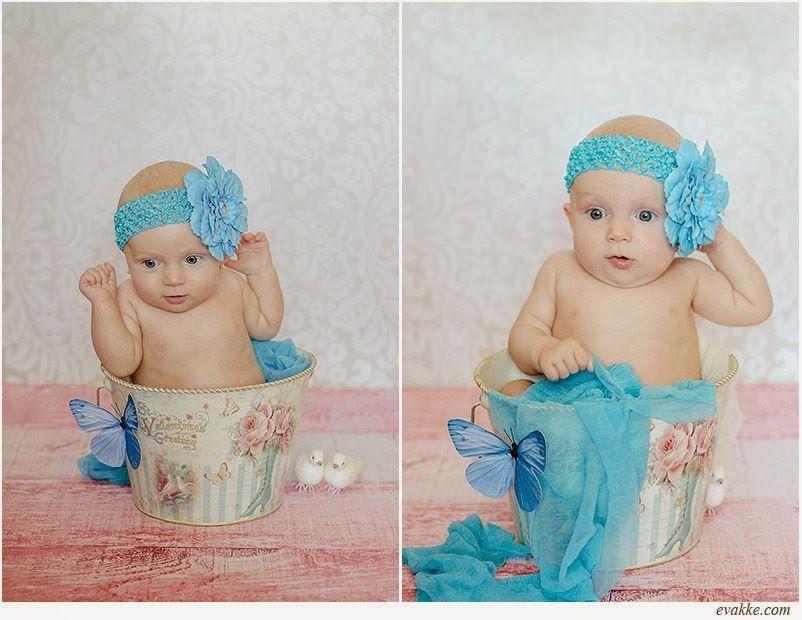 sesión de fotos de bebé www.evakke.com