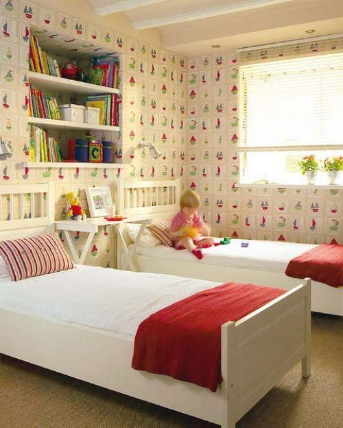 Kinderzimmer wei rot f r jungen gestalten kids co - Kinderzimmer rot ...