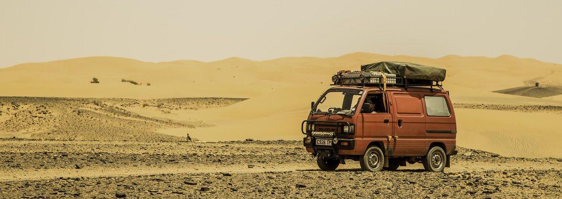 1986 Suzuki Supercarry Rascal Expedition Overland Van With Lpg