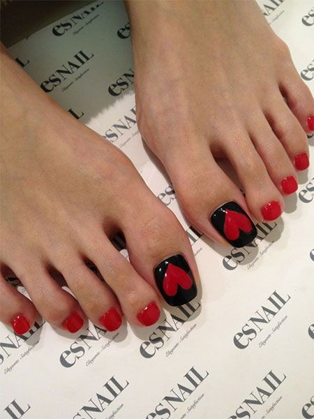 Cute valentines day toe nail art designs ideas 2014 nails cute valentines day toe nail art designs ideas 2014 prinsesfo Choice Image