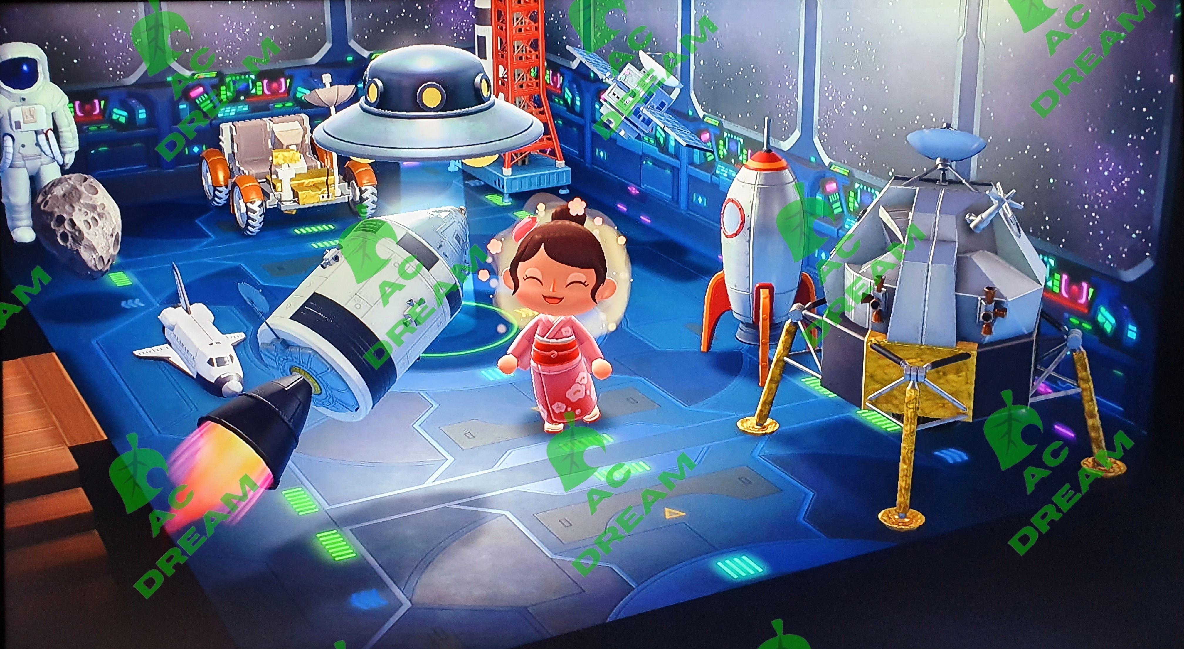 Space Room In Animal Crossing Enjoy To Design Your Own Room Space Animals Animal Crossing New Animal Crossing