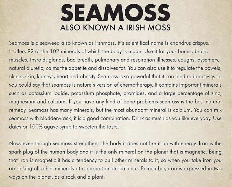 Sea Moss Click The Image For Benefits And Products Of Irish Sea Moss An Alkaline Food Approved From Dr Sebi Food Li The Cure Coconut Health Benefits Health