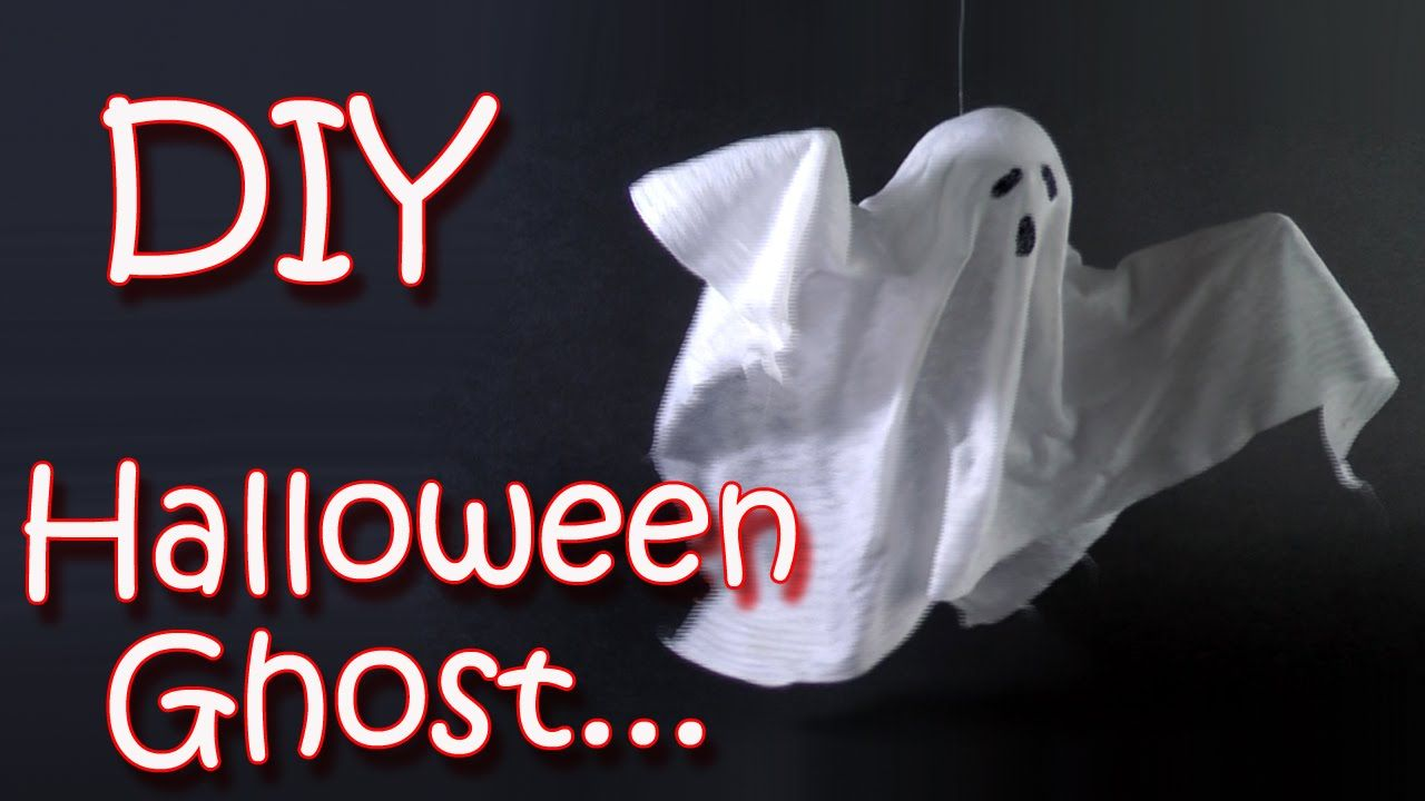 DIY Halloween crafts - Ghost - Halloween decorations - Ana DIY - halloween decorations diy