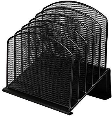 amazon com designa office wire mesh 5 section incline sorter rh pinterest com